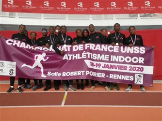CHAMPIONNAT DE FRANCE UNSS INDOOR